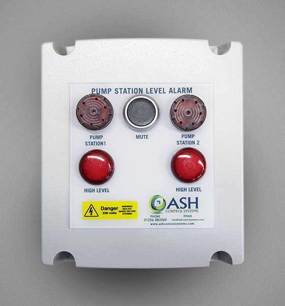 Dual High Level Alarm Panel